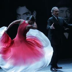 José Carreras and Sara Baras in 2008 in Barcelona