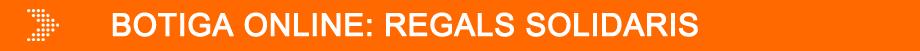 Banner botiga online: regals solidaris