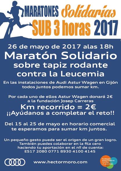 Marató solidària Héctor