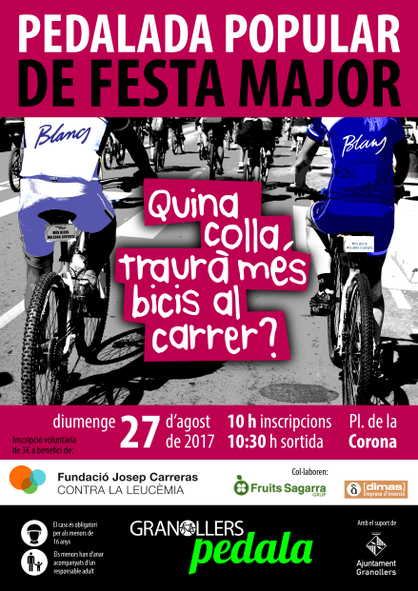 Cartell Granollers Pedala