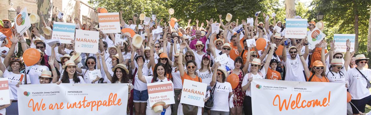 Grupo Imparable Madrid - newsletter welcome EN