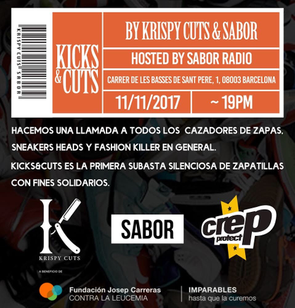 CARTEL DEL EVENTO KICKS & CUTS