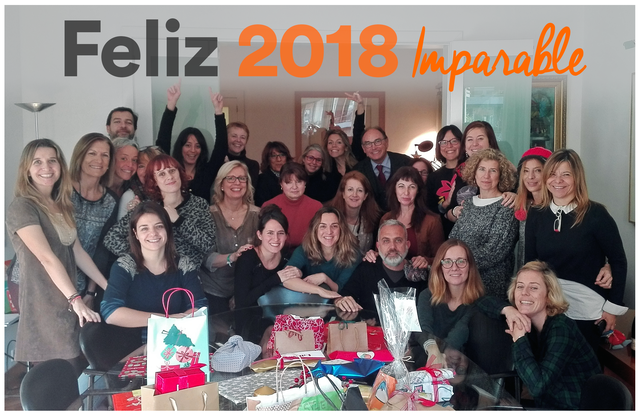 Equipo Imparable feliz 2018 CAST