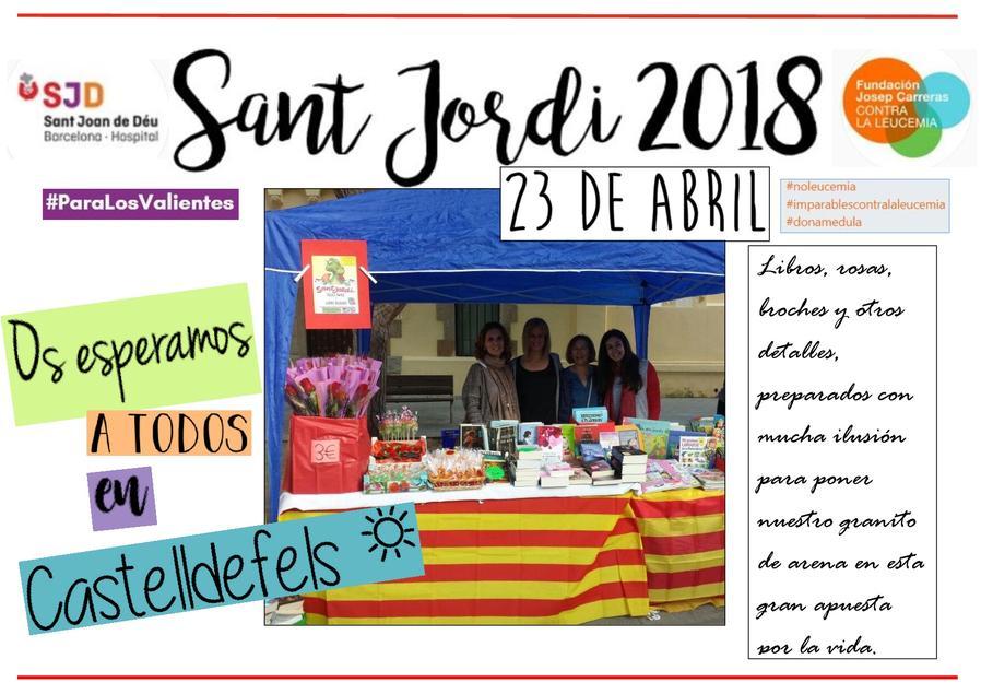 Cartell Sant Jordi 2018