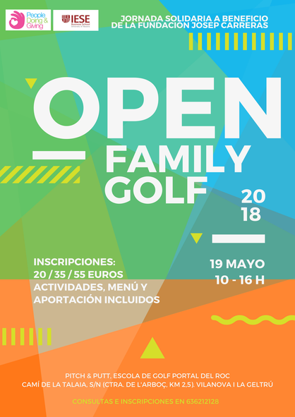 Cartell Open Golf Family