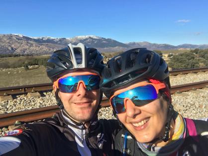 Juan y Silvia, titanes Imparables 2018