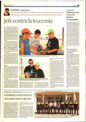 """Article sobre la Setmana contra la Leucèmia 2012 al """"Diari de Tarragona"""""""