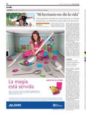 """Artículo sobre la Semana contra la Leucemia 2012 en """"Diario de Sevilla"""""""