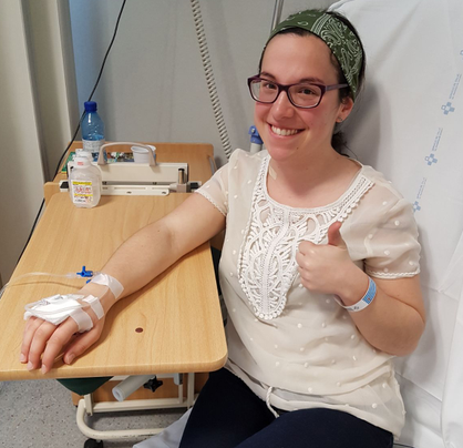 Silvia paciente quimio