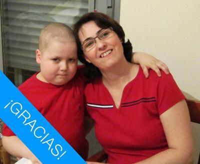 Rodrigo, paciente de leucemia