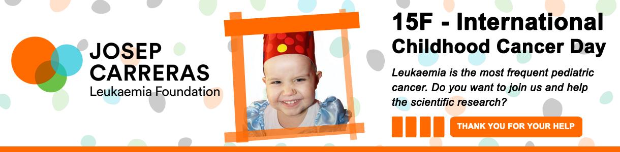 Banner formulari Dia del Càncer Infantil ANG