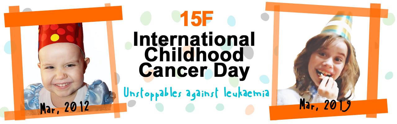 Banner escriptori Dia del Càncer Infantil ANG