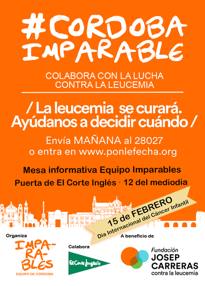 Cartel Córdoba Imparable