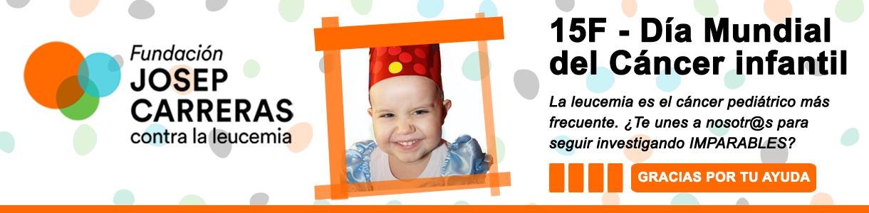 Banner formulari Dia del Càncer Infantil CAST