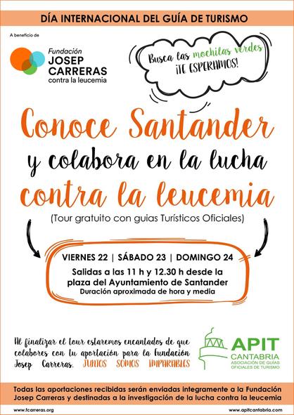 Cartel Guias Santander
