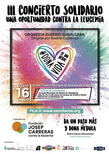 Cartel Concierto Talavera de la Reina 2019