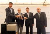Primera piedra instituto de investigación contra la leucemia Josep Carreras