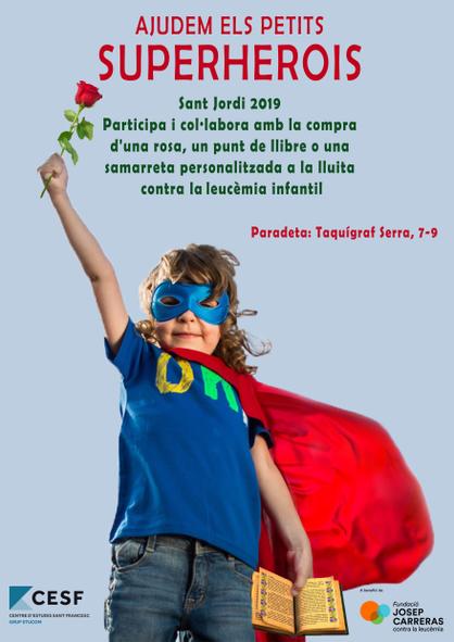 Cartell Sant Jordi Centre Sant Francesc