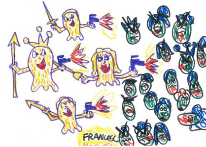 dibujo células Francesc inmunoterapia CART