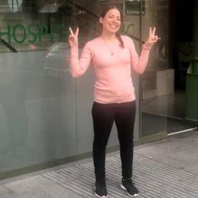 Lorena paciente LMC 4