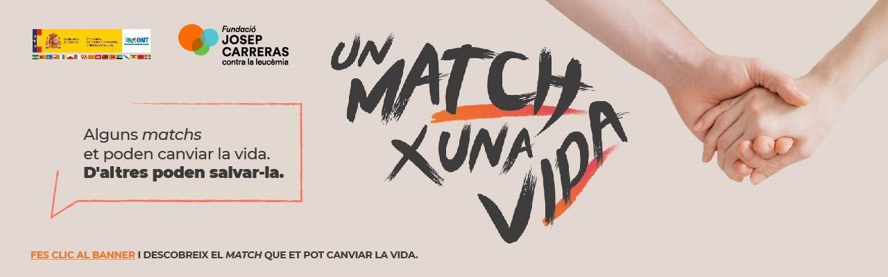 Banner Un match x una vida CAT