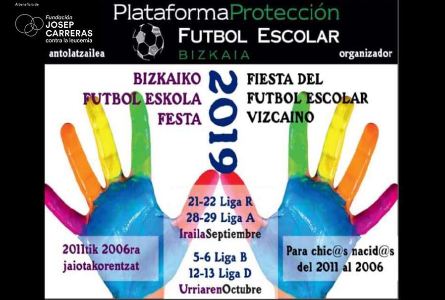 Cartel Torneo futbol Bilbao