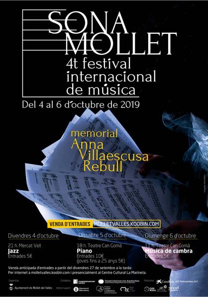 Cartell Sona Mollet 2019
