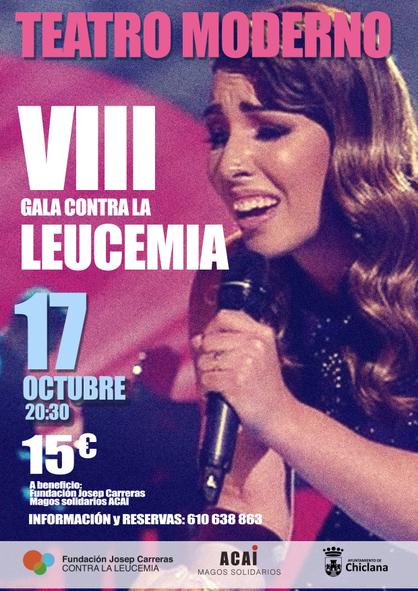 Cartell Gala Chiclana 2019