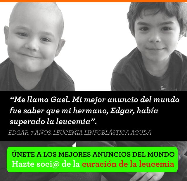 EMAM anuncio home Edgar leucemia mobile CAST socio
