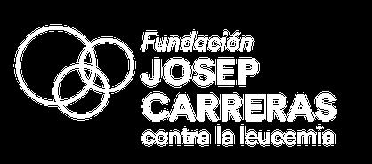 Logo blanco castellano Fundación Josep Carreras