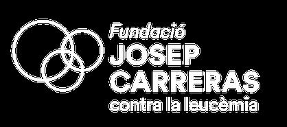 Logo blanc català Fundació Josep Carreras