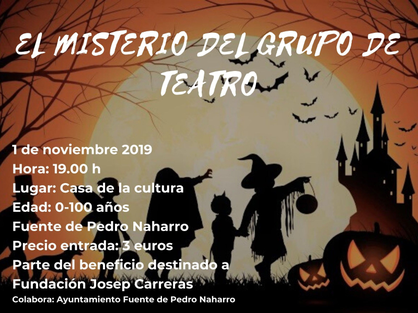 cartel halloween fuente pedro naharro 1