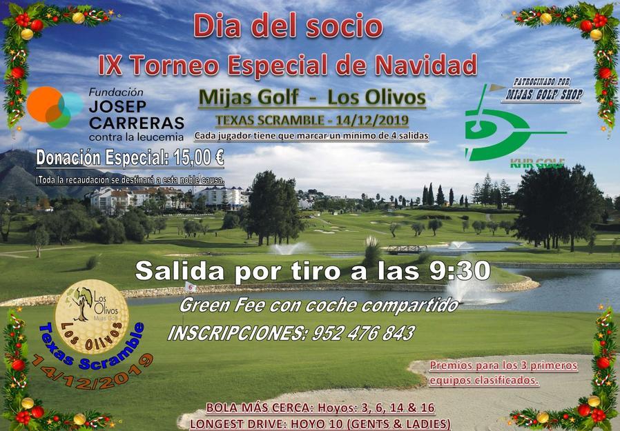 Cartell Tonreo Mijas Golf
