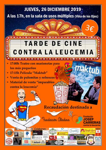 Cartell Cine Villarubia