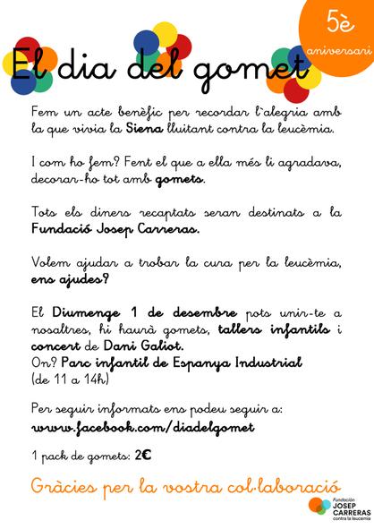 CARTEL DÍA DEL GOMET 2019