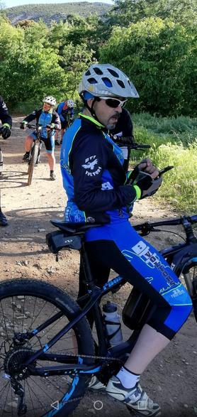 Enric Miquel hoy en bici