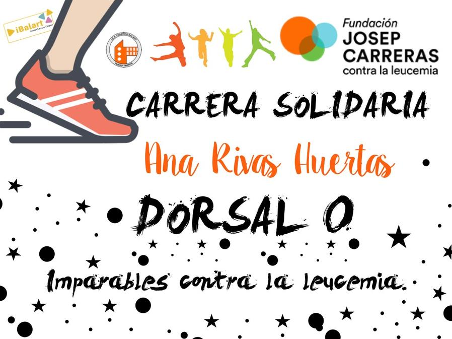 Carrera solidaria Ana Rivas Huertas