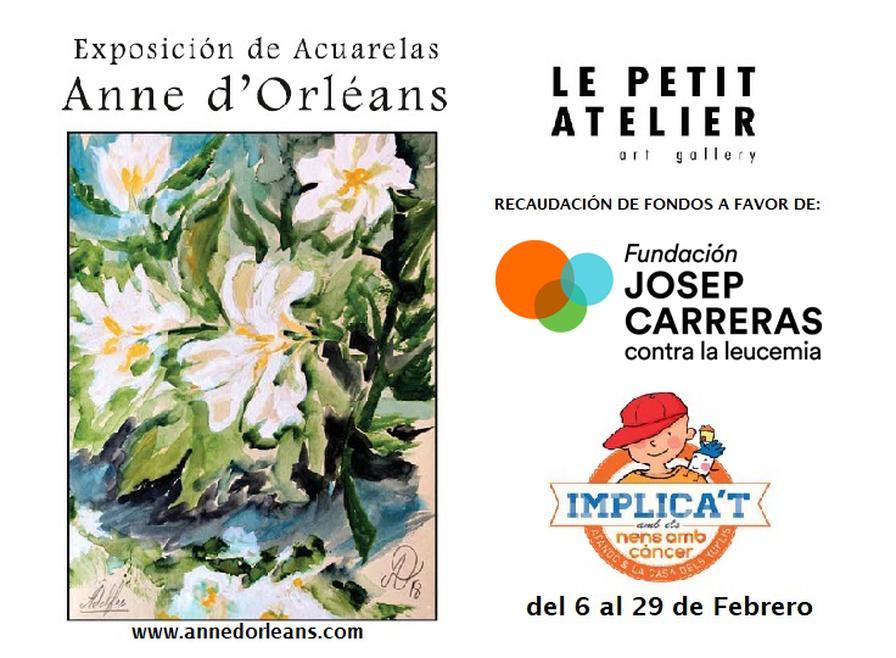 Cartell exposició Anne d'Orléans