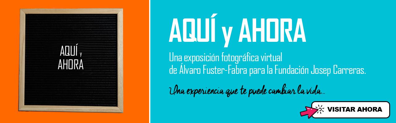 AQUI y AHORA banner home cast