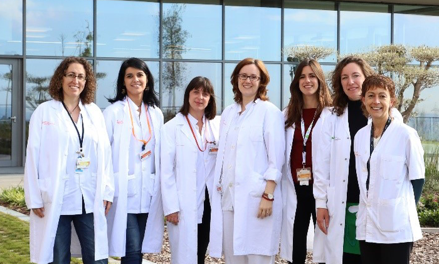 Equipo leucemia mieloide crónica Institut Josep Carreras