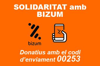Donativos solidarios BIZUM cat