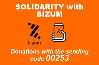 Donativos solidarios BIZUM ang