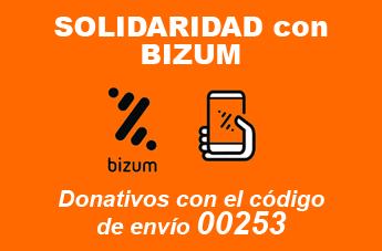 Donativos solidarios BIZUM cast
