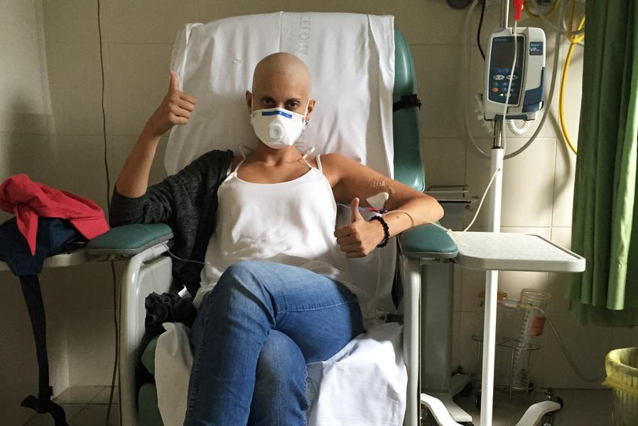 Anna paciente leucemia