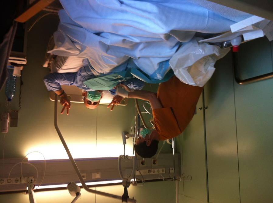 Álvaro paciente leucemia hospital