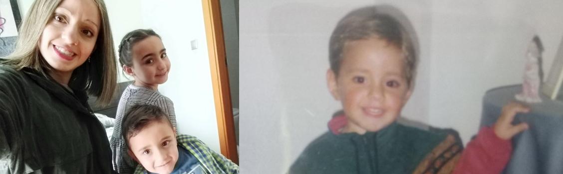 Alba paciente antes y ahora