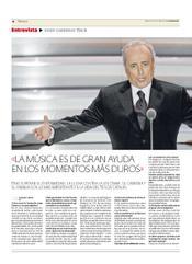 """Entrevista a Josep Carreras a """"El Progreso de Lugo"""""""
