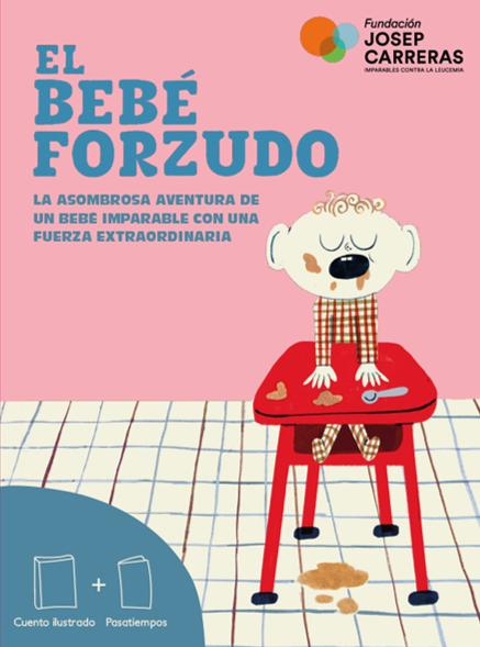 """Portada """"El bebé forzudo"""" - ES"""