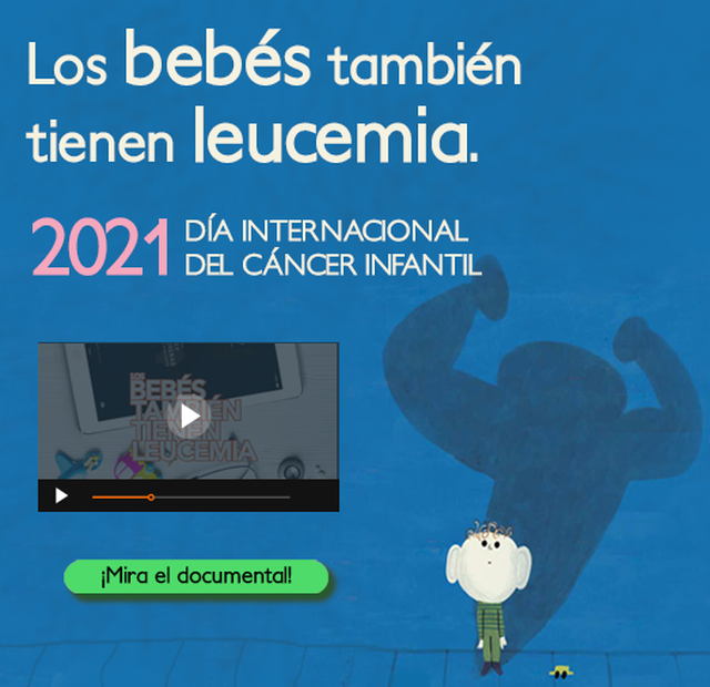 Banner mobile LOS BEBÉS TAMBIÉN TIENEN LEUCEMIA
