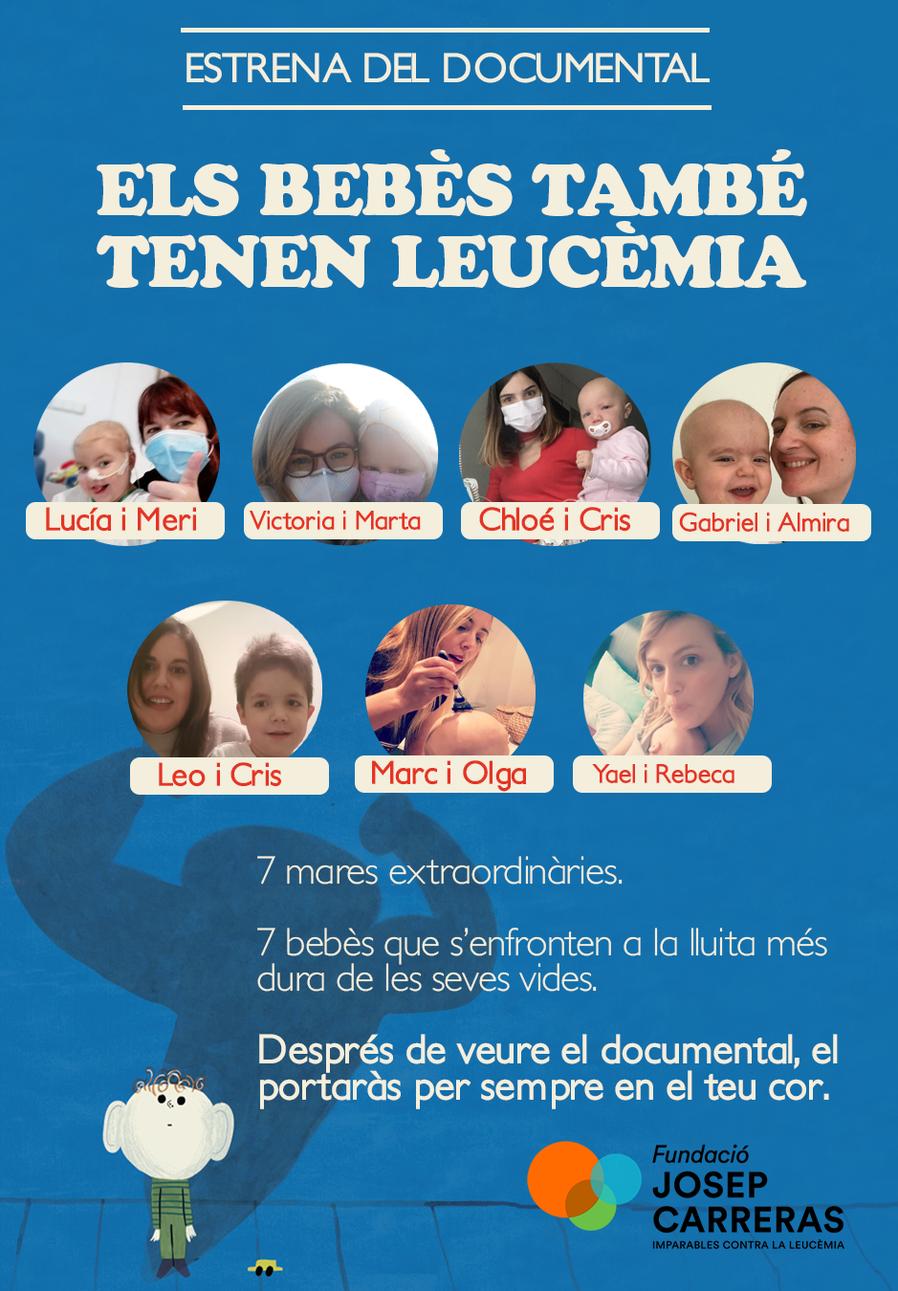 Poster Documental ELS BEBÈS TAMBÉ TENEN LEUCÈMIA
